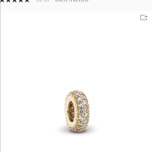 Pandora Jewelry - Pandora 14k gold inspiration within spacer